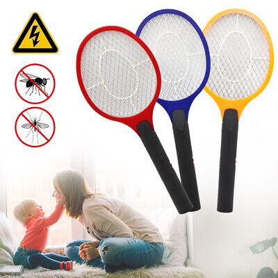 3X Elektrische Fliegenklatsche Insektenvernichter Insekten Mörder
