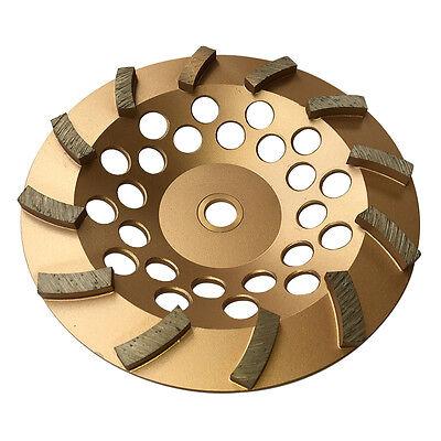 7 Concrete Grinding Cup Wheels 12 Diamond Abrasive Seg 78-58 Arbor