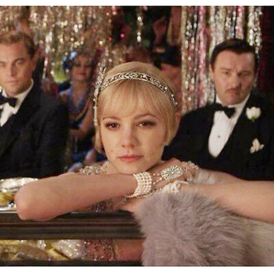 Great Gatsby Women Fashion (Great Gatsby Vintage Bracelet Bridal Pearls Fashion Luxury Womens Jewelry)