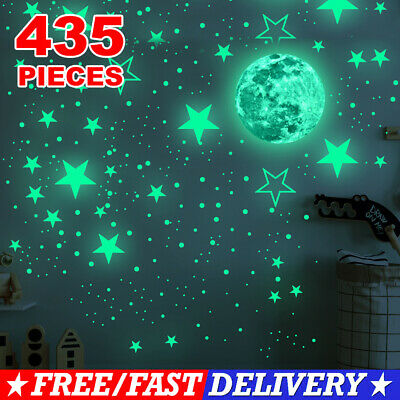 Home Decoration - Luminous Star Wall Stickers Decal Glow In The Dark Kids Room Home Ceiling Decor