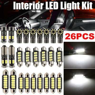 26 Stück LED SMD Innenraumbeleuchtung Innenlicht Für Mercedes W211 S211 E-Klasse