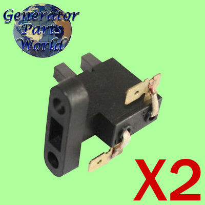 2 Westinghouse Carbon Brush For Wh7000 Wh7000c Wh7000e Whc6500e Generator