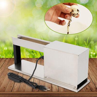 Pro Quail Egg Processing Machine Shelling Tool Semi-Automatic Peeler Machine USA