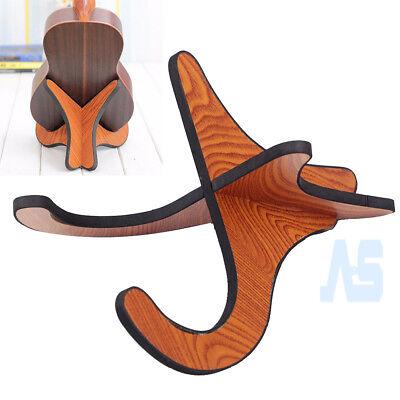 Guitar Wooden Stand Bracket Holder Shelf Mount Ukulele Violin Mandolin Banjo UK