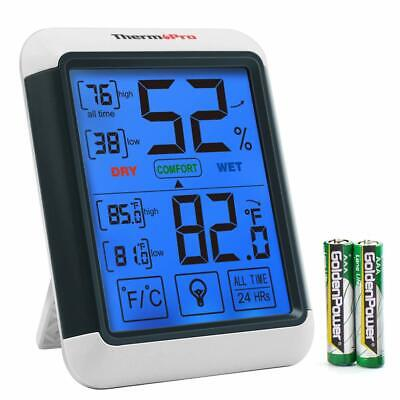 Digital Lcd Indoor Thermometer Hygrometer Humidity Meter Temperature Monitor Us