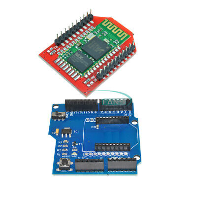 Hc-06 Bluetooth V2.0 Slave Module Xbee Shield V03 Wireless Control For Arduino