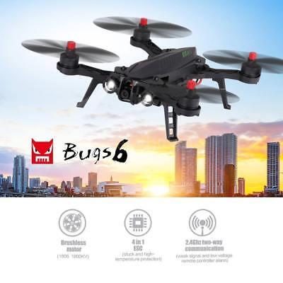 MJX B6 Bugs 6 RC Quadcopter RTF LED 2.4G Brushless 2-way Control Racing Drone HO
