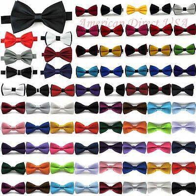 Classic Fashion Novelty Mens Adjustable Tuxedo Bowtie Wedding Bow Tie Necktie