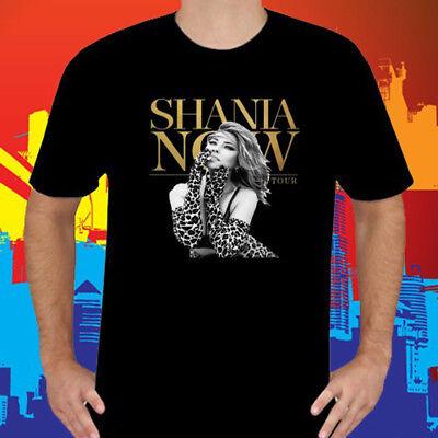 New Shania Twain Tour 2018 Music Legend Singer Mens Black T Shirt Size S To 3Xl