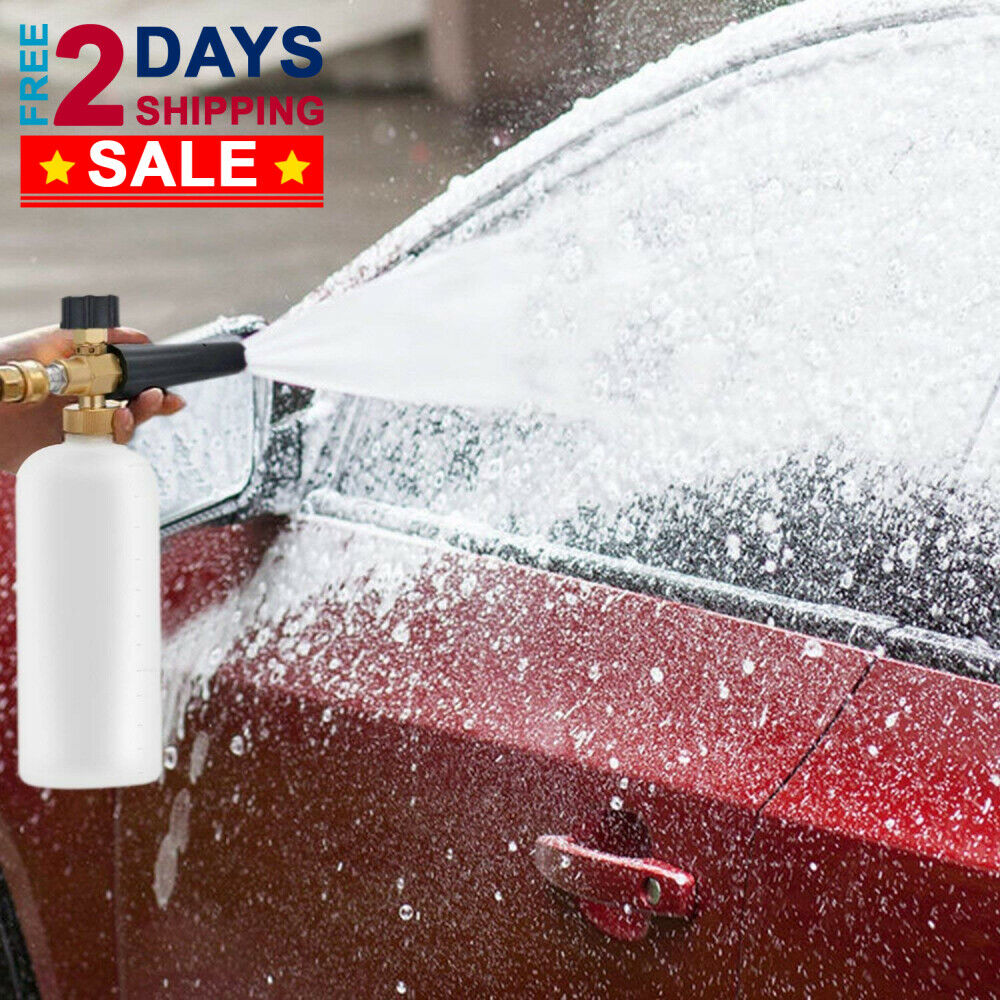 Snow Foam Lance Cannon Soap Bottle Sprayer For Pressure Wash