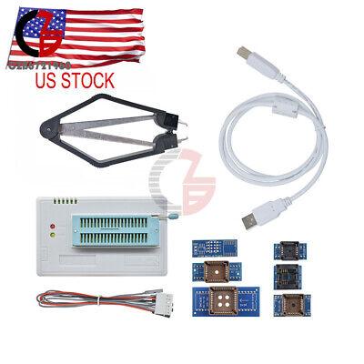 12 Pcs Tl866ii Plus Programmer Flash Adapters Socket Eprom Bios Avr Mcu Pic