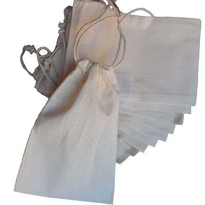 kleine Baumwoll-Beutel mit Zugband zum Anmalen + Selbstbefüllen Adventskalender