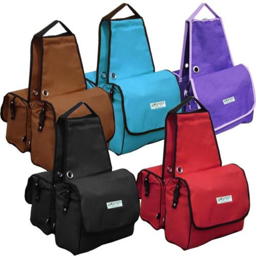 Tahoe Heavy Duty Insulated Waterproof Nylon Saddle Bag Available in 3 Colors