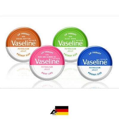 Aloe Jelly (20g Vaseline Lip Therapy Lippenbalsam Lippenpflege Petroleum Jelly Original Aloe)