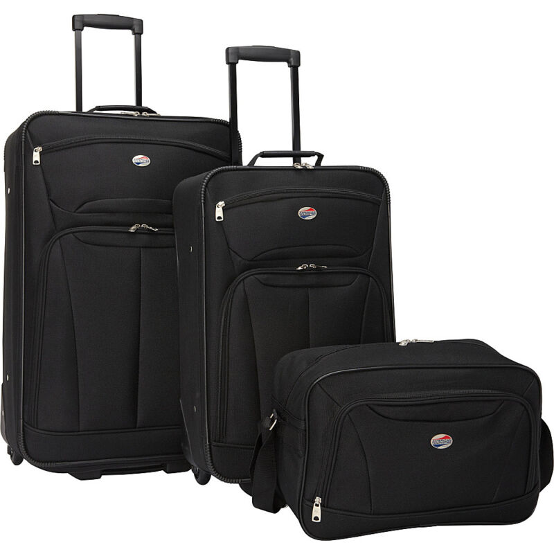 American Tourister Fieldbrook Ii 3-piece Nested Luggage Luggage Set New