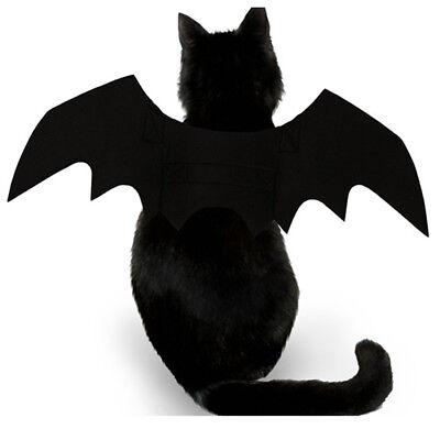 Bat Wing Vampire Black Cute Fancy Dress Up Halloween Pet Dog Cat Costume Gift