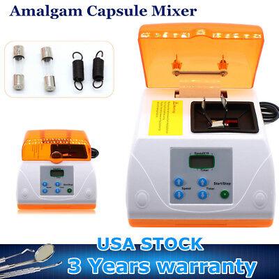 Dental Lab Amalgamator Digital Amalgam Capsule High Speed Blender Mixer Ac110v