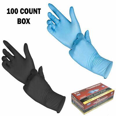 Disposable Gloves Nitrile Examination Gloves Powder Free Non Latex 100 box