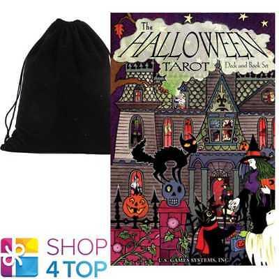 BOOK SET KIPLING WEST ESOTERIC US GAMES SYSTEMS VELVET BAG (Halloween-tarot-deck)