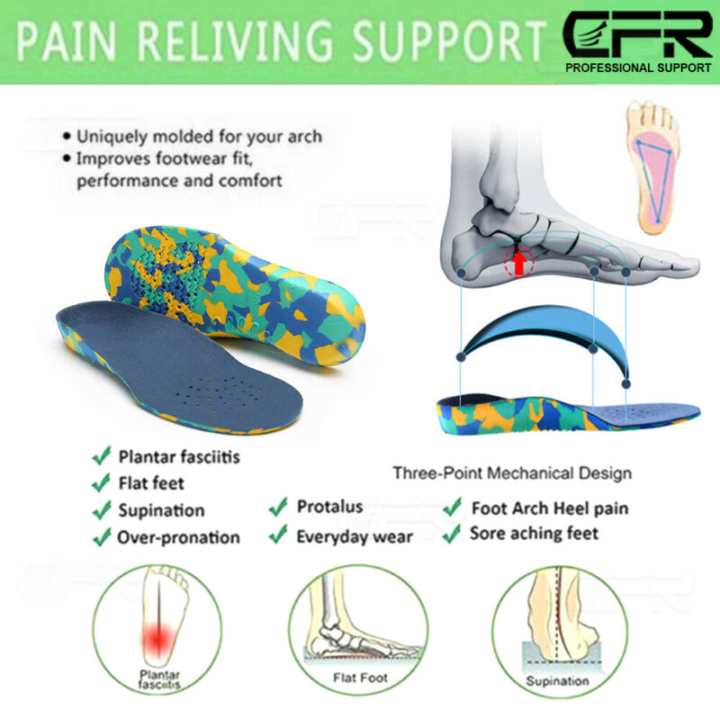 Children Orthotic Arch Support Orthopedic inserts