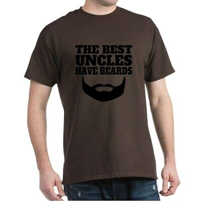CafePress The Best Uncles Have Beards T Shirt 100% Cotton T-Shirt