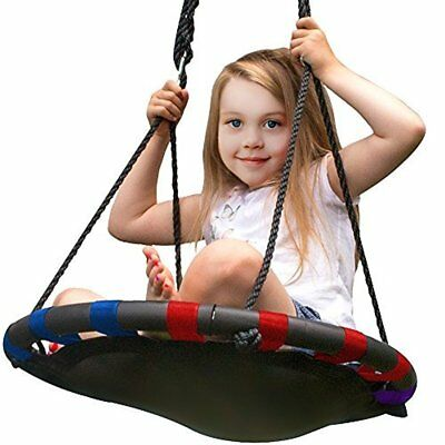 Sorbus Spinner Swing (24 Inch, Multi-Color Mat Seat) A Baby Baby Swing