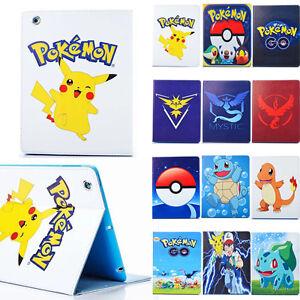 For-iPad-mini-iPad-2-iPad-Air-2-Pokemon-Go-Game-Pikachu-Leather-Stand-Case-Cover