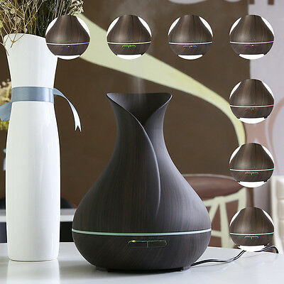 EaseHold LED Ultrasonic Air Humidifier Purifier Aroma Essential Oil Diffuser New