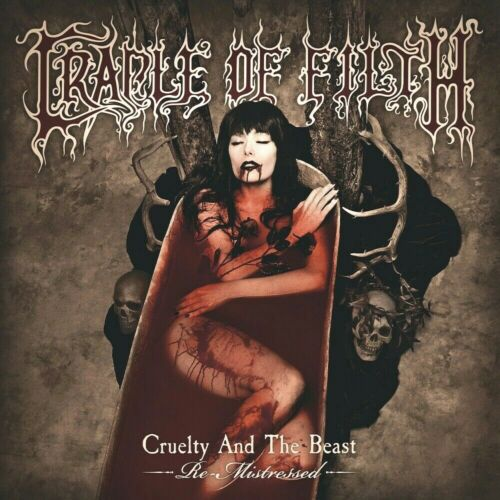 Cradle Of Filth Cruelty And The Beast Alt 12x12 Album Cover Replica Poster Print