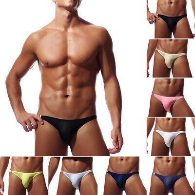 String Bikini Brief (Herren Sexy Soft Bikini Briefs Unterwäsche G-String Knickers Unterhose Minislip)