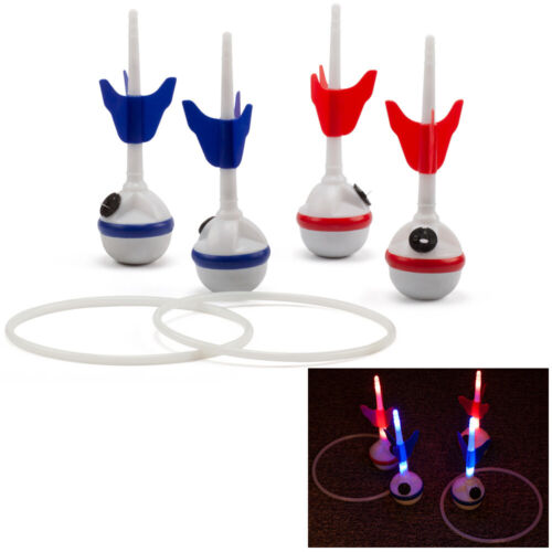 Lawn Darts Game Set with LED Lights. Backyard, Lawn Toss Games for Adults & Kids