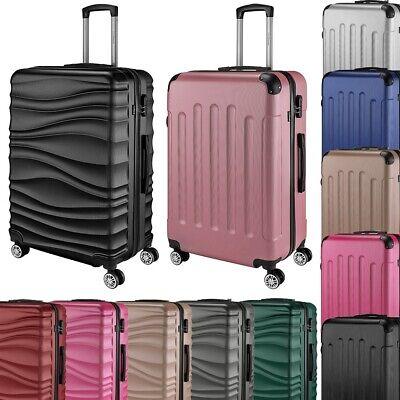 Go2Travel Hartschalen Reisekoffer Trolley Reisetasche Handgepäck