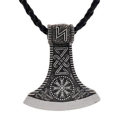 Amulett Anhänger Keltisch Germanisch Beil Axt Thor Hammer Mittelalter Gothic