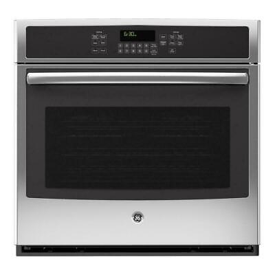 """GE JT5000SFSS 30"""" Single Electric Convection Oven in Stainless Steel"""