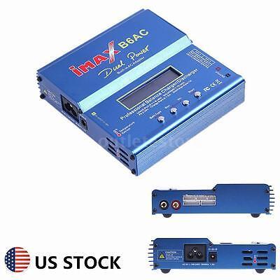 Imax B6 Ac Digital Lcd Rc Lipo Nimh Nicd Battery Balance Charger Acdc Blue M1x6