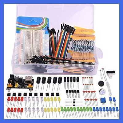 Electronic Fans Bundle Learning Kit For Arduino Raspberry Pi W Breadboard Cable