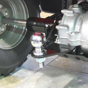 New Honda 250 Recon TRX ATV Ball Hitch 97-17 Powder Coated Finish With Hardware