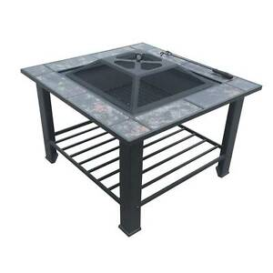 Fire Pit BBQ Table Grill Fireplace w/ Table Lid - Free Delivery Perth Perth City Area Preview