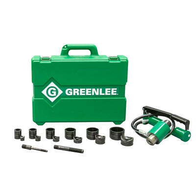 Greenlee 7306 11-ton Hydraulic Knockout Kit With Hand Pump 12 - 2