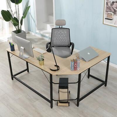 L-Shaped Office Corner Computer Desk Home Office Study Lapto