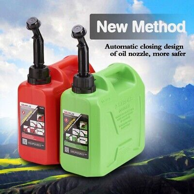 5 Gallon Flow Control Gas Container Can Red 5l Fuel Tank Petro Lgasoline Diesel