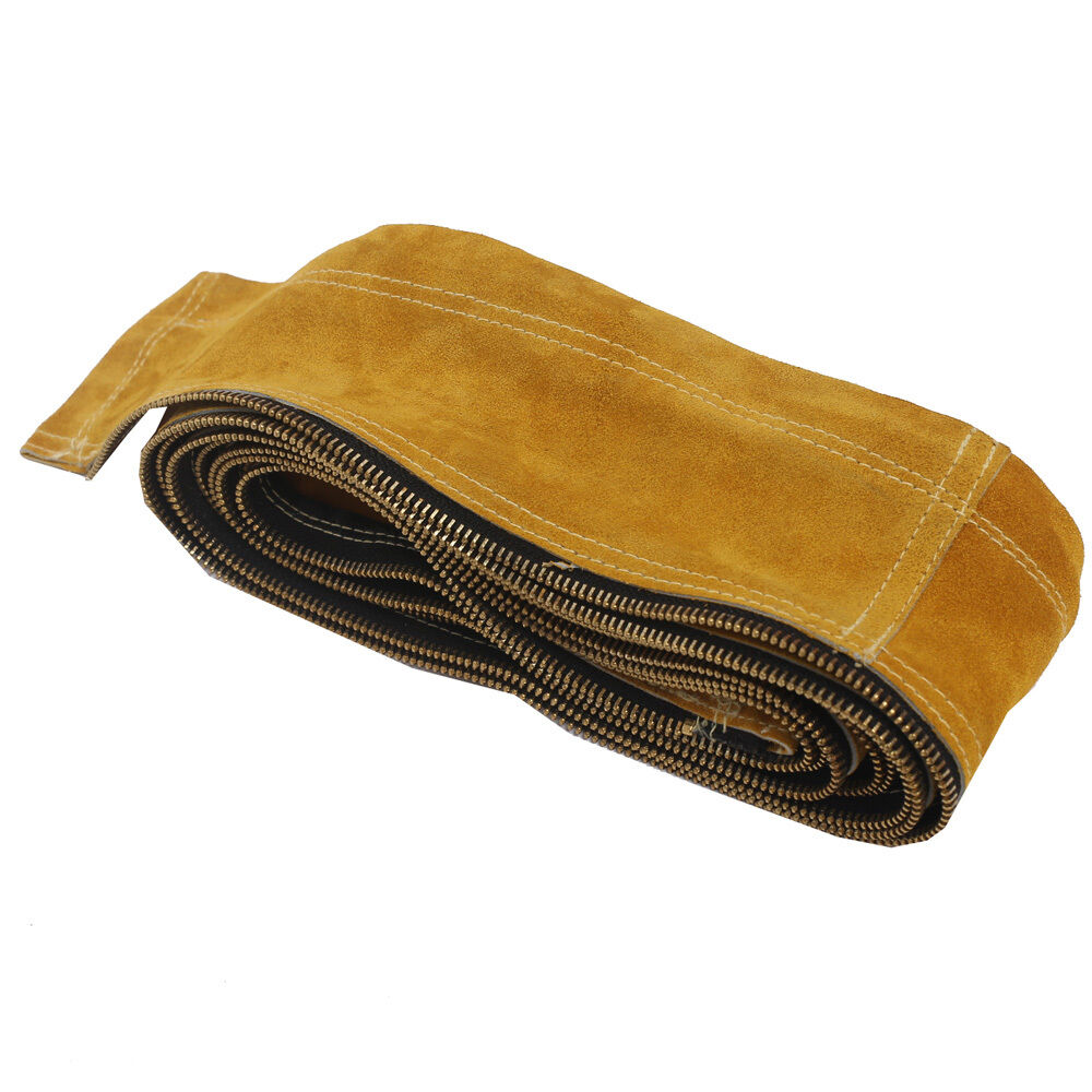 Ap 9006z Tig Cowhide Leather Welding Torch Cable Cover 12