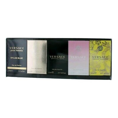 Versace by Versace, 5 Piece Mini Gift Set for Women