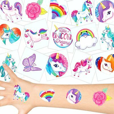 German Trendseller® - Einhorn Tattoos Set  Einhorn Party | Unicorn | Mitgebsel