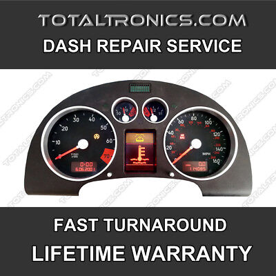 AUDI TT A3 A4 A6 INSTRUMENT CLUSTER SPEEDO REPAIR LCD REPLACEMENT