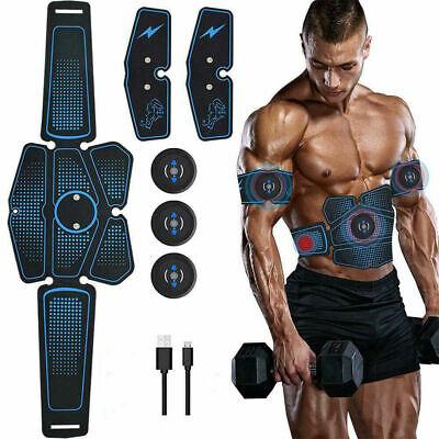 New ABS Exerciser Sport Gym Stimulator Bauchmuskeltrainer EMS Trainingsgerät USB (Sport Trainer)