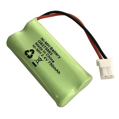 Rechargeable Battery for Motorola MBP160 and MBP161 Baby Monitors 2.4v 750mAh