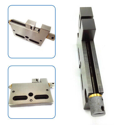 1x Cnc Wire Edm Cut High Precision Vise Stainless Steel 4 Jaw Opening 3kg Clamp