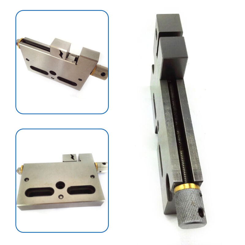 """Stainless Steel CNC Manual Wire EDM High Precision Vise 4"""" Jaw Clamping 3Kg New"""