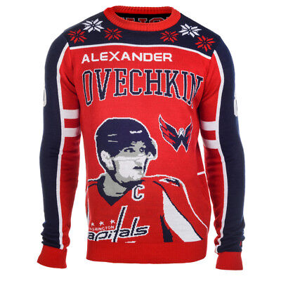 - Alexander Ovechkin #8 (Washington Capitals) NHL Player Ugly Sweater